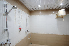 Public shower room Royalty Free Stock Photos