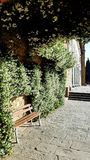 An public space outside San Miniato al Monte in Florence, Italy royalty free stock photo