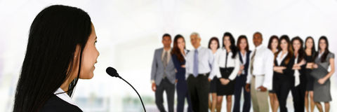 Public Speaker Stock Images