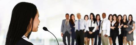 Public Speaker Stock Images
