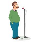 Public speaking. Fear of public speaking. Stock Image