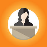 Public Speaking Stock Images
