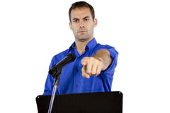 Public Speech Royalty Free Stock Photos