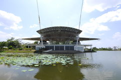 Public Stage at Cyberjaya Lake Stock Images