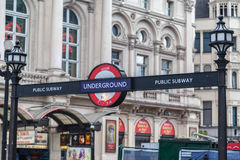 Public Subway London England Royalty Free Stock Images