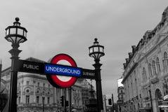 Public Subway. Underground of London, the tube Stock Photos