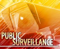 Public surveillance Abstract concept digital illustration. Public surveillance Abstract Abstract background digital collage concept illustration public Stock Images