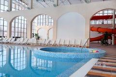 Public swimming pool Royalty Free Stock Photos