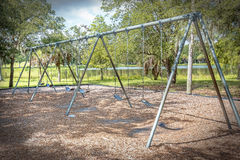 Public Swing Set Stock Photos