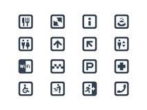 Public symbols Stock Photo