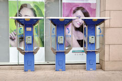 Public telephone Stock Photography