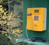 Public telephone. A Public telephone are taken on China Royalty Free Stock Image