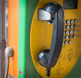 Public telephone Stock Photos