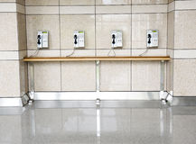 Public telephones Royalty Free Stock Photography