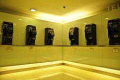 The public telephones Stock Photography