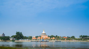 Public temple in Thailand Royalty Free Stock Photography