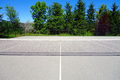 Public Tennis Court Stock Photography