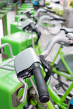 Public tental bicycles in Thailand Stock Photography