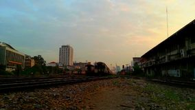 Public Thai Train Railway stock footage