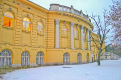 Public thermal bath stock images