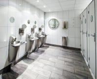 Public toilet. Toilet room in public building Stock Image