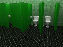 Public toilet Royalty Free Stock Photography