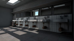 Public Toilet Royalty Free Stock Photo