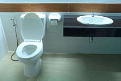 Public toilet Royalty Free Stock Images