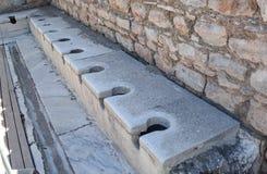 Free Public Toilet In The Ancient City Of Ephesus, Turkey Stock Image - 153363541