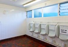 Public toilet interior Stock Photography