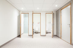 Public toilet for men and shower Royalty Free Stock Photo
