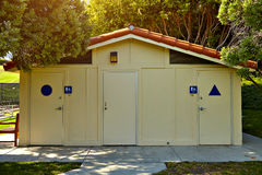 Public toilet in the park Stock Photography