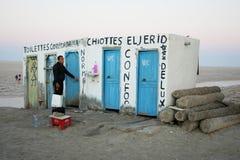 Public toilet at salt lake Stock Photography