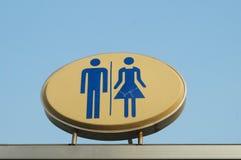 Public toilet sign Stock Image