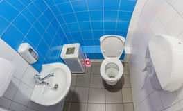 The public toilet Stock Photos