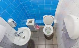The public toilet Stock Photos