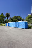 Public Toilets royalty free stock image