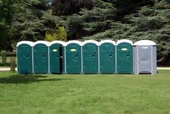 Public toilets Stock Image