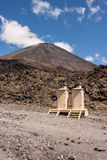 Public toilets at Mount Ngauruhoe Stock Image