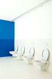 Public toilets Royalty Free Stock Photo