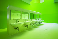 Public toilets Royalty Free Stock Images