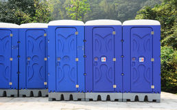 Public toilets in Ruifang park, Taiwan Stock Photos