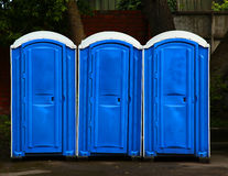 Public toilets Royalty Free Stock Photography
