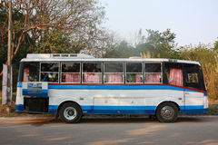Public transit bus Royalty Free Stock Photo