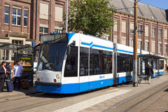 Public transport Amsterdam Stock Photo
