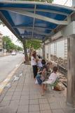 Public transport bangkok thailand Stock Photos
