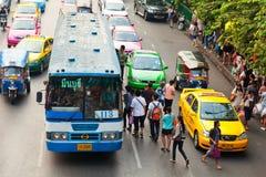 Public transport in Bangkok, Thailand Royalty Free Stock Images