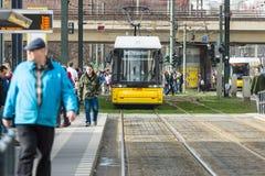 Public transport in Berlin Stock Images