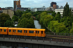Public transport in Berlin Stock Photography