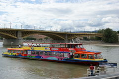 Public transport boat Stock Images